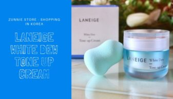 Đánh giá Laneige White Dew Tone up Cream