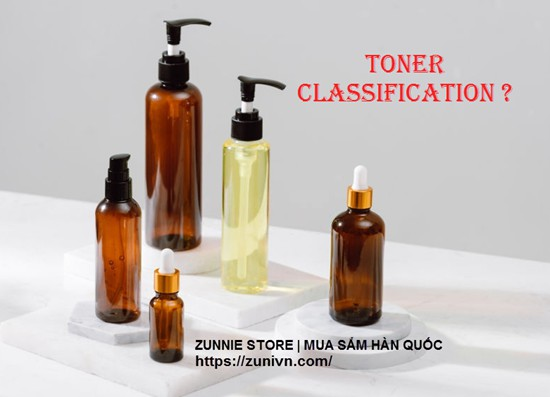 Toner Classification - Phân loại Toner